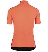 Q36.5 L1 Woman Pinstripe X - Radtrikot - Damen, Orange