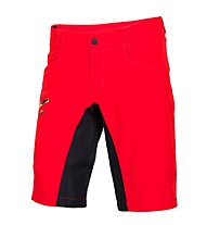 Qloom Busselton shorts with Innershorts - Pantaloncini Ciclismo, Rubin Red