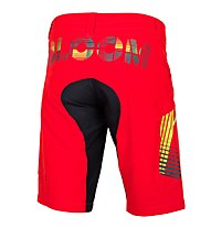 Qloom Busselton shorts with Innershorts MTB-Radhose, Rubin Red