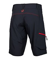 Qloom Pantaloni bici MTB Counterburry, Black