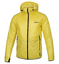 Qloom M's Jacket Thermo RAISE - Giacca Sci da Fondo, Buttercup