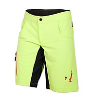 Qloom Vaucluse Shorts MTB-Radhose, Lime