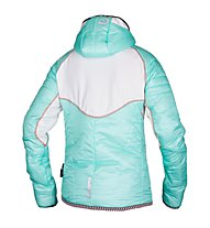 Qloom W's Jacket Thermo HONEY - Giacca Sci da Fondo, Blue Light