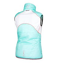 Qloom W's Vest Thermo HONEY, Blue Light