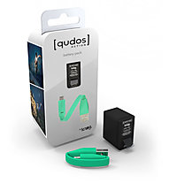 Knog Qudos Action Battery Pack, Black/Green