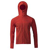 Rab Alpha Flux - giacca isolante con cappuccio - uomo, Red