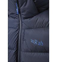 Rab Axion Pro - giacca piumino con cappuccio - uomo, Dark Blue
