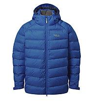 Rab Axion Pro - giacca piumino con cappuccio - uomo, Blue