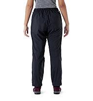 Rab Downpour Plus 2.0 PNT WMNS - pantaloni lunghi trekking - donna, Black