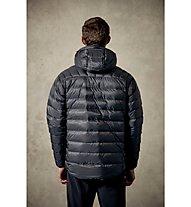 Rab Electron - giacca isolante con cappuccio - uomo, Grey