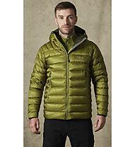 Rab Electron - giacca isolante con cappuccio - uomo, Green