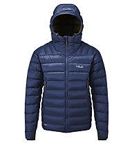 Rab Electron - giacca isolante con cappuccio - uomo, Blue