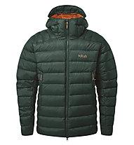 Rab Electron Pro - giacca piumino con cappuccio - uomo, Green