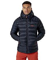 Rab Electron Pro - giacca piumino con cappuccio - uomo, Black