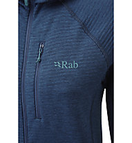 Rab Filament H W - giacca in pile - donna, Dark Blue