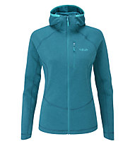 Rab Filament H W - giacca in pile - donna, Blue