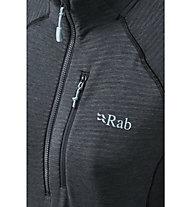 Rab Filament Pull-On - felpa in pile - donna, Dark Grey