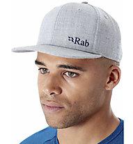 Rab Flatiron Logo Cap - Kappe, Grey