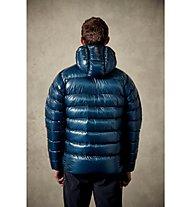 Rab Infinity G - giacca in piuma con cappuccio - uomo, Blue