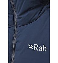 Rab Infinity Light - giacca in piuma con cappuccio - uomo, Blue