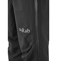 Rab Kangri GTX - pantaloni hardshell da scialpinismo - uomo, Black