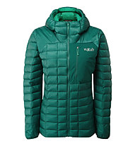 Rab Kaon Jacket - giacca piumino con cappuccio - donna, Green