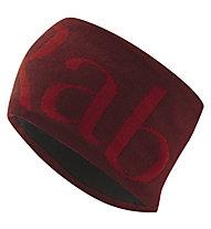 Rab Knitted Logo - Stirnband, Dark Red/Red