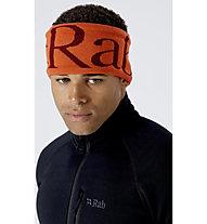Rab Knitted Logo - Stirnband, Orange/Red