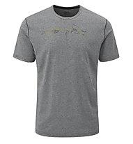 Rab Mantle Tessalate - T- Shirt - Herren, Grey