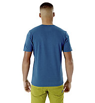 Rab Mantle Tessalate - T- Shirt - Herren, Dark Blue