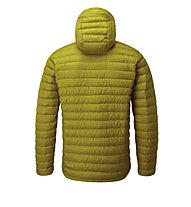 Rab Microlight Alpine - giacca piumino con cappuccio - uomo, Yellow