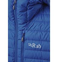 Rab Microlight Alpine - Isolationsjacke mit Kapuze - Herren, Blue