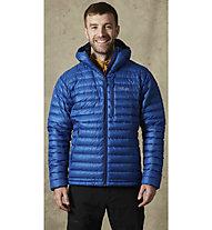 Rab Microlight Alpine - giacca in piuma con cappuccio - uomo, Blue
