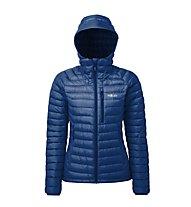 Rab Microlight Alpine - giacca in piuma con cappuccio - donna, Blue