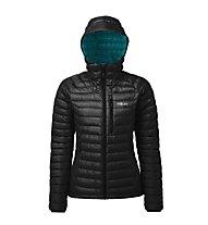 Rab Microlight Alpine - giacca in piuma con cappuccio - donna, Black