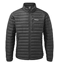 Rab Microlight - giacca piumino - uomo, Black