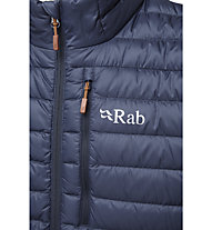 Rab Microlight - giacca piumino - uomo, Dark Blue