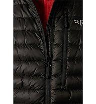 Rab Microlight - giacca isolante - uomo, Black