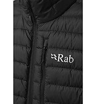Rab Microlight - wattierte Weste - Herren, Black