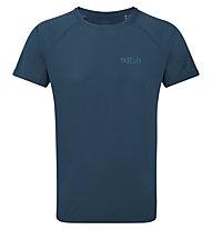Rab Pulse SS - maglietta tecnica - uomo, Blue