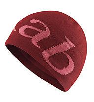 Rab Rab Logo - berretto, Red/Dark Red