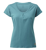 Rab Solo SS W's - T-shirt - donna, Light Blue