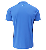 Rab Sonic SS Zip - T-shirt tecnica - uomo, Light Blue