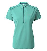 Rab Sonic SS Zip - Funktions-T-Shirt - Damen, Light Green