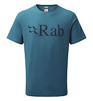 Rab Stance Logo Tee - T-Shirt - Herren, Light Blue