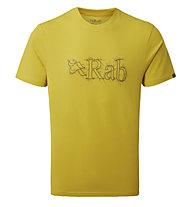 Rab Stance Sketch SS - T-shirt - uomo, Yellow