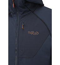 Rab Superflux - felpa in pile - uomo, Dark Blue
