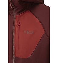 Rab Superflux - felpa in pile - uomo, Dark Red
