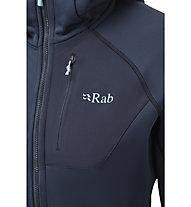 Rab Superflux - Kapuzenpullover - Damen, Blue