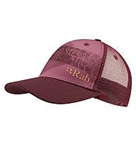 Rab Trucker C - cappellino, Purple